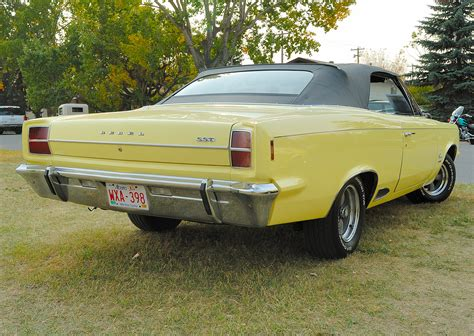 Orphan of the Day, 09-26, 1967 Rambler Rebel SST